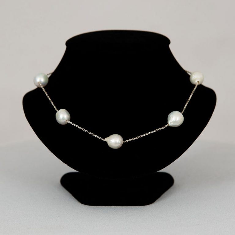 Baroque 18 inch Pearl Necklace