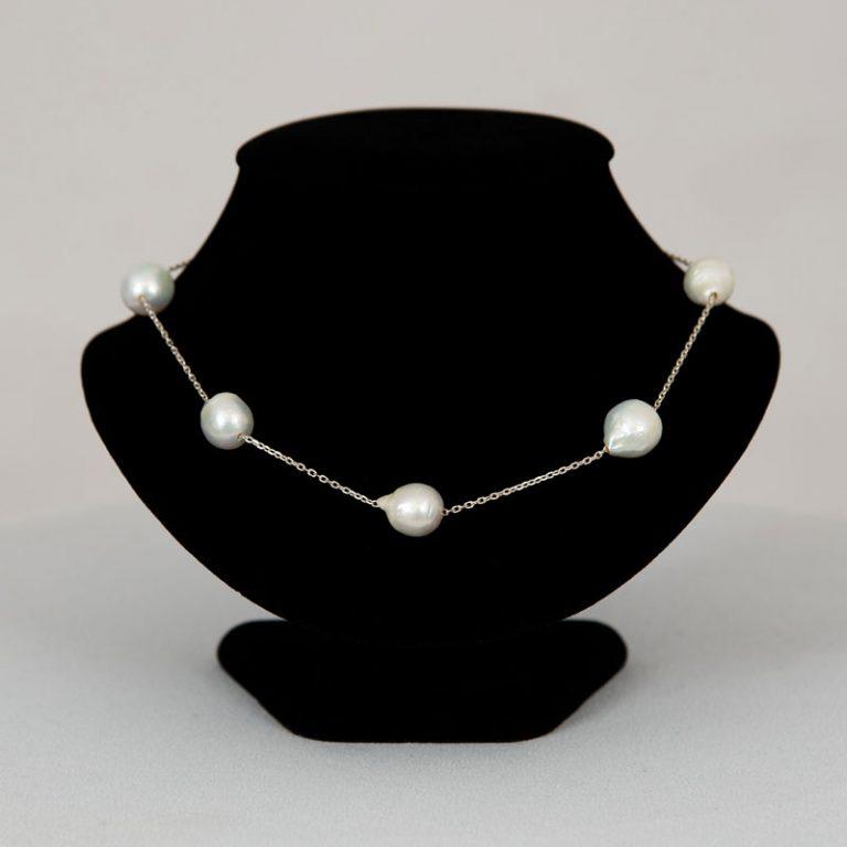 Baroque 18 inch Pearl Necklace
