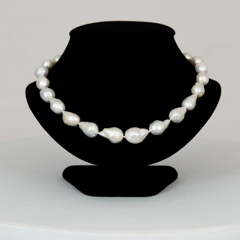 Edison Extra Large 19 inch Pearl Necklace