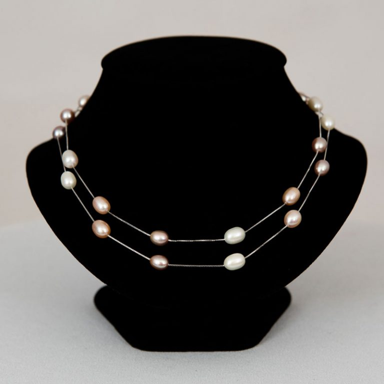 Pearl Drop Opera Necklace