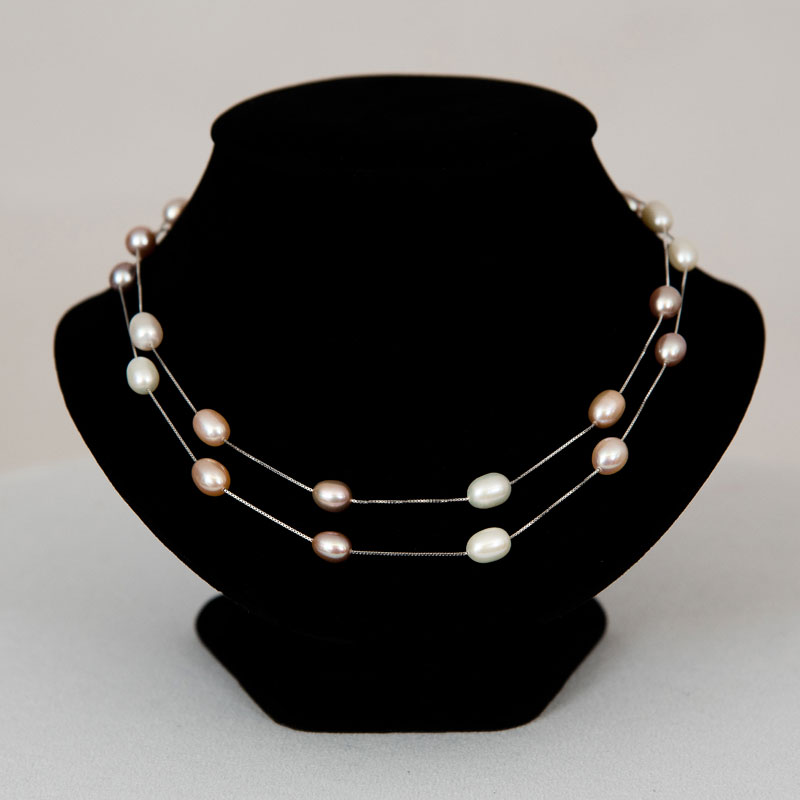 Pearl Drop Opera Necklace