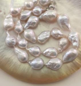 Real Baroque freshwater pearls