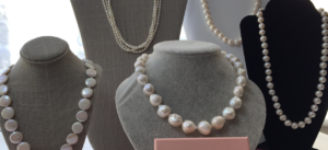 Pearl necklaces