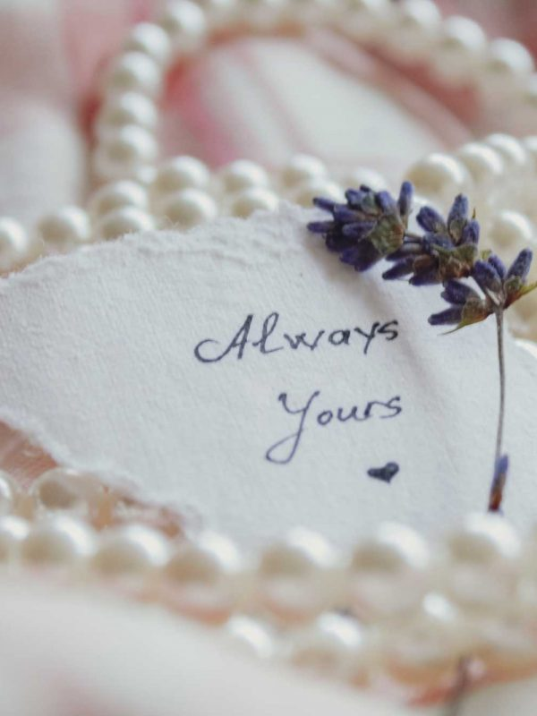 Always yours Pearls